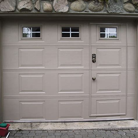 Garage Door by Pedestrian Door Specialized Door Within A Garage Door