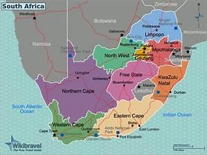 landkarte sudafrika karte regionen weltkartecom With katzennetz balkon mit accommodation garden route south africa