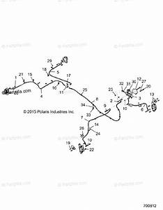 Polaris Side By Side 2017 Oem Parts Diagram For Brakes