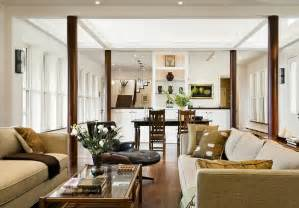 10 creative ways to use columns as design features in your - Great Room Layout Ideas