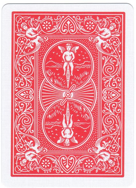 Bicycle Deck Red