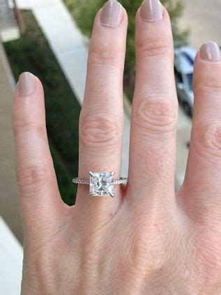 4 5 finger size with a 2 carat diamond loveshackvacations