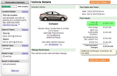 Rent A For A Day by How To Rent A Car Cheap