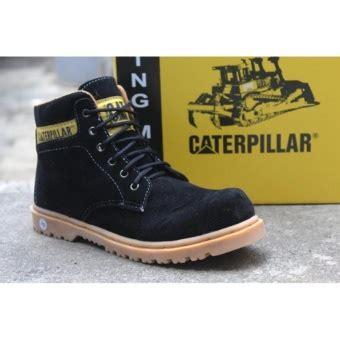 beli sepatu caterpillar safety boots teririt list harga