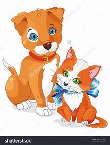 clipart puppies and kittens - Clipground