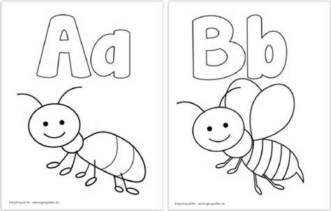 printable alphabet coloring pages   alphabet
