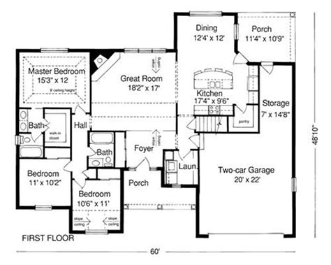 a house plan exle of house plan blueprint exles of house windows