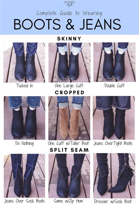 complete guide  wearing boots  jeans video