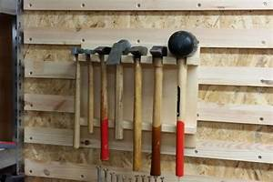 Werkzeugwand Selber Bauen : french cleat wand hammerhalterung bonus einzelhalterungen bauanleitung zum selberbauen ~ Watch28wear.com Haus und Dekorationen