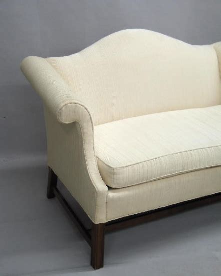 camel back settee camel back settee by pennsylvania house 1336672