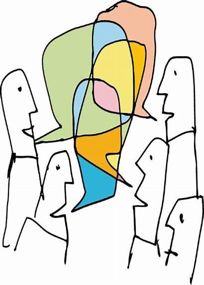 Listening Talking Cartoon Talk Iniciar Relationships Different
