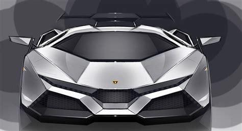 Full Frontal View Of The Lamborghini Cnossus Concept Car