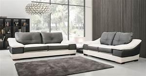 Canapé Cuir Design : canap canap cuir design italien prosperpersonnalisable sur univers du cuir ~ Teatrodelosmanantiales.com Idées de Décoration