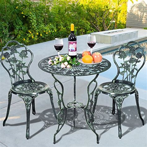giantex patio furniture cast aluminum de