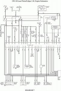 For A 1998 Mitsubishi Eclipse Wiring Diagram