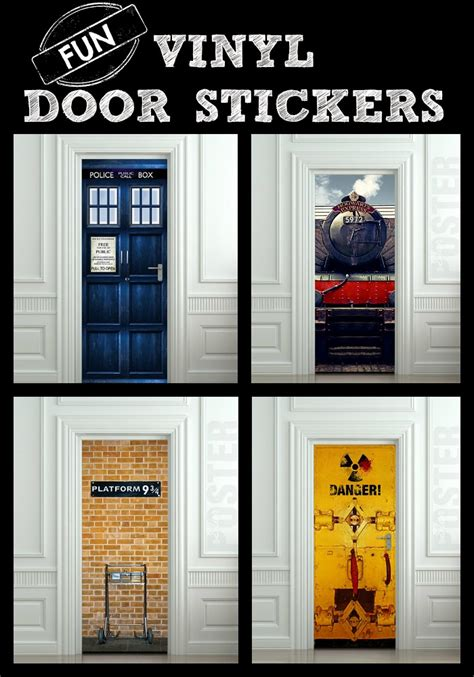 amazing kids bedroom door stickers