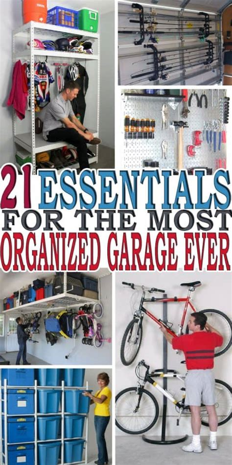 Simple Garage Organization Ideas by 21 Of The Best Garage Organization Ideas My Stay At Home