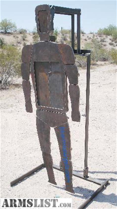 armslist  sale ar shooting target reactive human silhouette target
