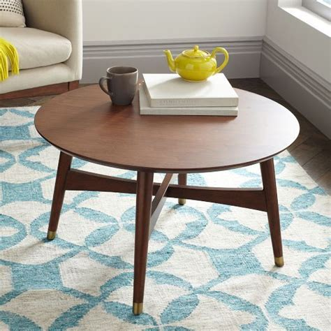 west elm mid century table new reeve mid century coffee table in walnut from west