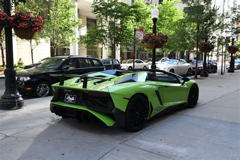 lamborghini aventador sv roadster kaufen 2017 lamborghini aventador sv roadster lp 750 4 sv stock gc mir235 for sale near chicago il