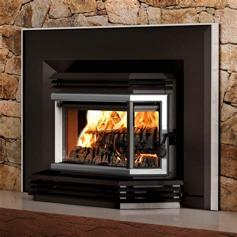 wood burning fireplace inserts osburn 2200 metallic black epa wood burning fireplace