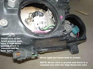 Headlamp Wiring Help