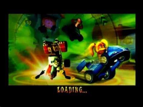 crash nitro kart thunder struck crunch youtube