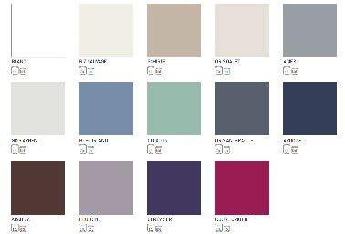 couleurs de tollens nuancier nuancier peinture carrelage sol tollens 13 couleurs et blanc