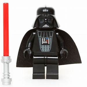 Lego Star Wars Minifigure Darth Vader Classic Version Red