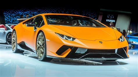 Exotic Lamborghini Huracan Performante Debuts At Geneva
