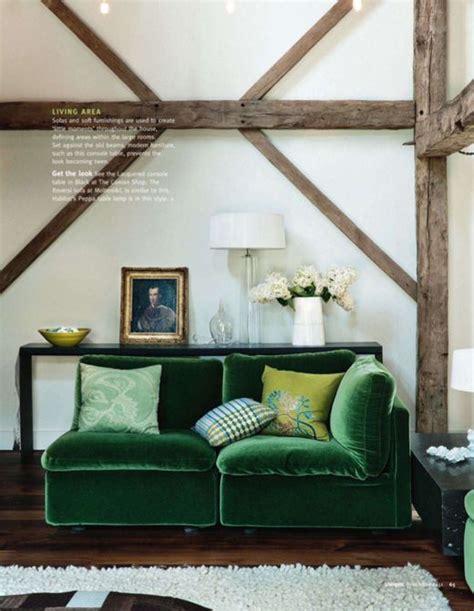 green velvet settee green velvet going bold in the living room the