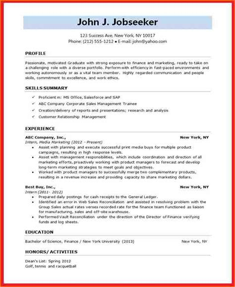 8 resume format for be students basic appication letter