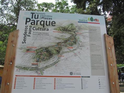 Mapa Entrada Al Parque  Picture Of Cerro San Cristobal
