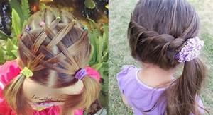 Coiffure Facile Pour Petite Fille : petite fille coiffure simple et facile ~ Nature-et-papiers.com Idées de Décoration