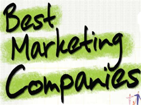 india s best marketing companies list of top 25 the