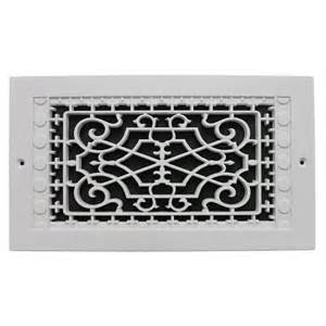 decorative air return grille air return vent cover grille 12 x 12 white steel wall ceiling