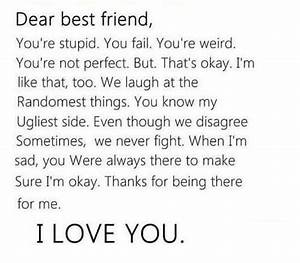 Love Quotes Images: 10 best friend love quotes for her ...