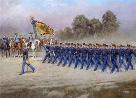 alexander pock parade   austro hungarian infantry