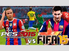 FIFA 15 vs PES 2015 Gameplay + Info YouTube