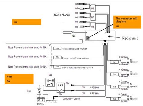 sample pioneer radio wiring
