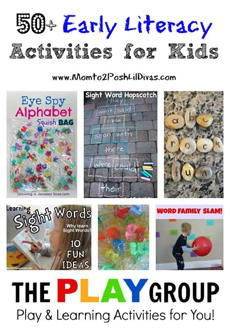 50 early literacy activities for