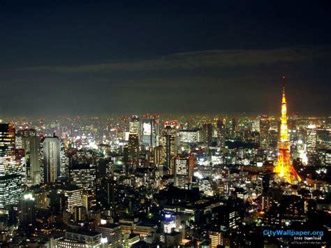 tokyo tower wallpaper landscape  high definition