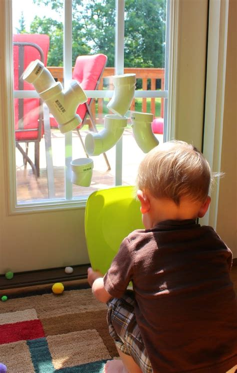 Pvc Tube Play Wall  101 Kids Activities Fspdt