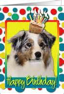 birthday cards  australian shepherds  greeting