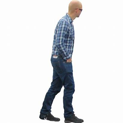 Walking Transparent Person Away Silhouette Clip Clipart