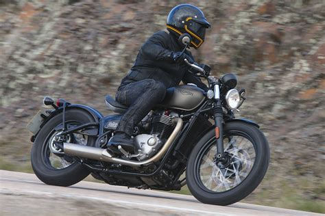 2017 Triumph Bonneville Bobber First Ride Test  12 Fast Facts