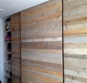Dressing En Palette : portes dressing en bois brut id es d co pinterest ~ Melissatoandfro.com Idées de Décoration
