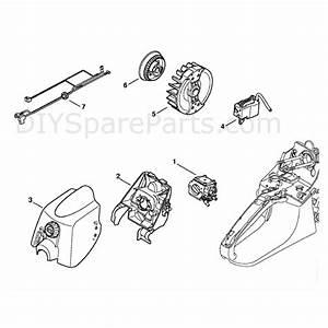 Stihl Ms 280 Chainsaw  Ms280 Iz  Parts Diagram