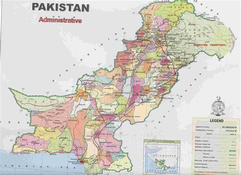 pakistan tourism guide maps  pakistan