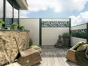 charming idee de cloture exterieur 2 cl244ture With salle de bain design avec brise vue extérieur horizontal décoré